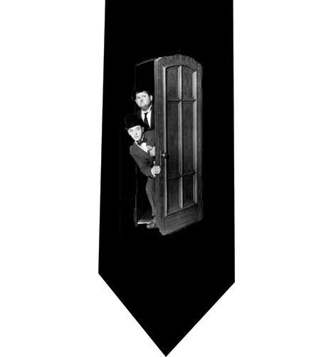 Laurel and Hardy Tie