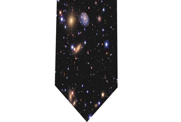 Galaxy Tie - model 1 - star universe