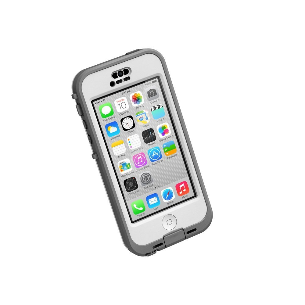 lifeproof iphone 5c case lifeproof n 220 220 d iphone 5c waterproof white clear 15629