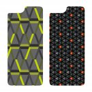OtterBox SYMMETRY SERIES GRAPHIC INSERT 2PK for iPhone 6/6s TRIANGLE ORANGE / TECH HEX GREEN