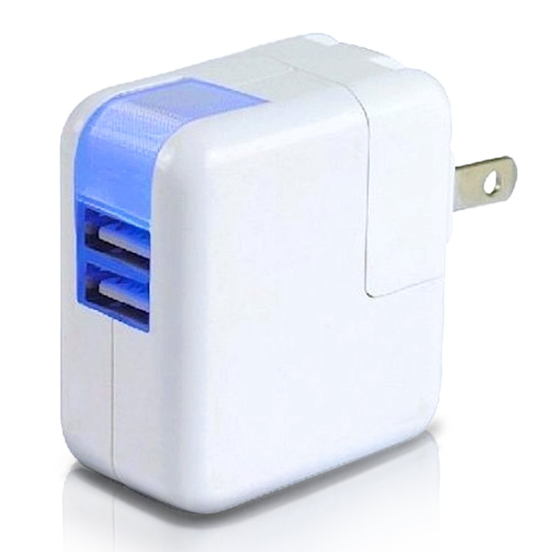 Flowzzz Dual Usb Fast In Wall Charger Device Designed For Apple Iphone