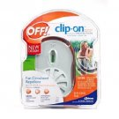 Off! Clip On Fan Circulated Mosquito Repellent, White