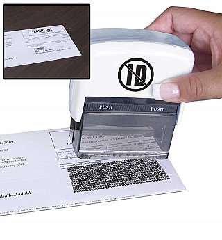 US Patrol ID Protector Stamp