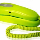 Blue Donuts - Slimline Green Colored Phone For Wall Or Desk With Memory - BD-016GRN
