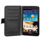 MYBAT Black Book-Style  Wallet (with Black Tray)  for SAMSUNG I717 (Galaxy Note)