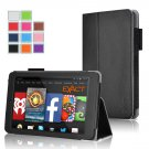 Exact Pro Premium PU Leather Folio Stand Case for Amazon Fire HD 7 4th Gen 2014