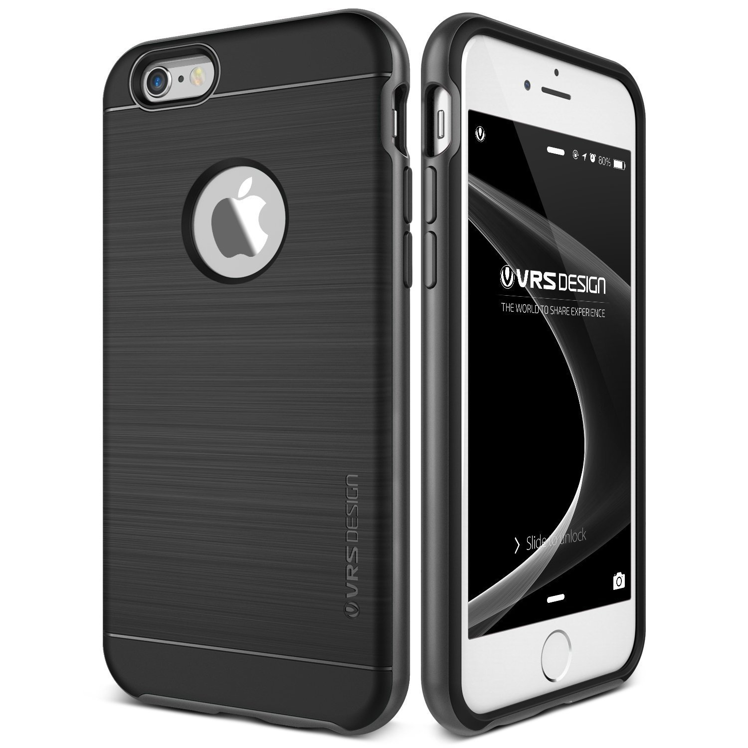 VRS Design [New High Pro Shield][Steel Silver]  For Apple iPhone 6 4.7