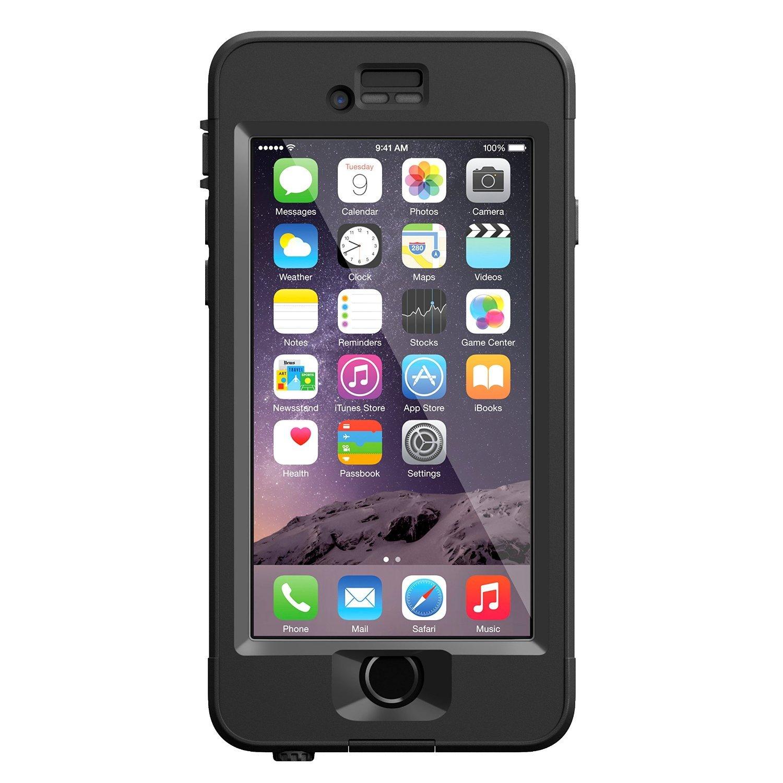 """LifeProof NUUD iPhone 6 Plus ONLY Waterproof Case (5.5"""" Version) - BLACK"""