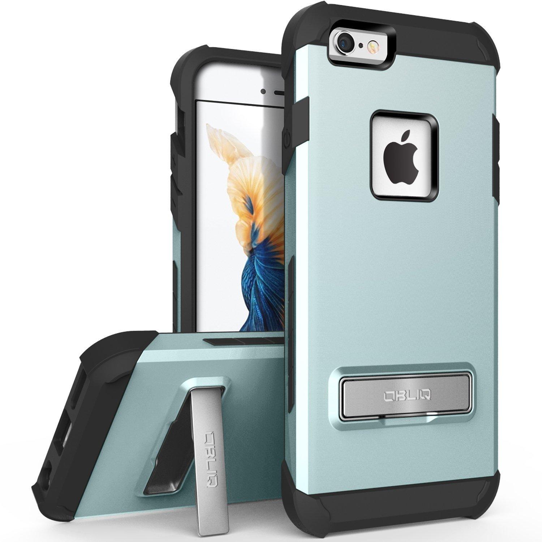 iPhone 6S Plus Case, OBLIQ [Skyline Advance][Mint] with Metal Kickstand
