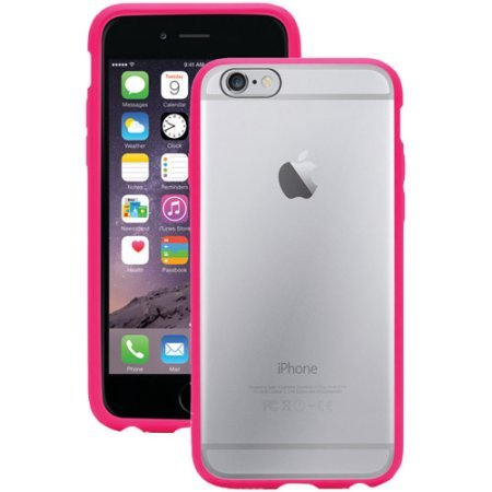 Griffin Reveal Ultra-Thin Cover for iPhone 6 - Hot Pink