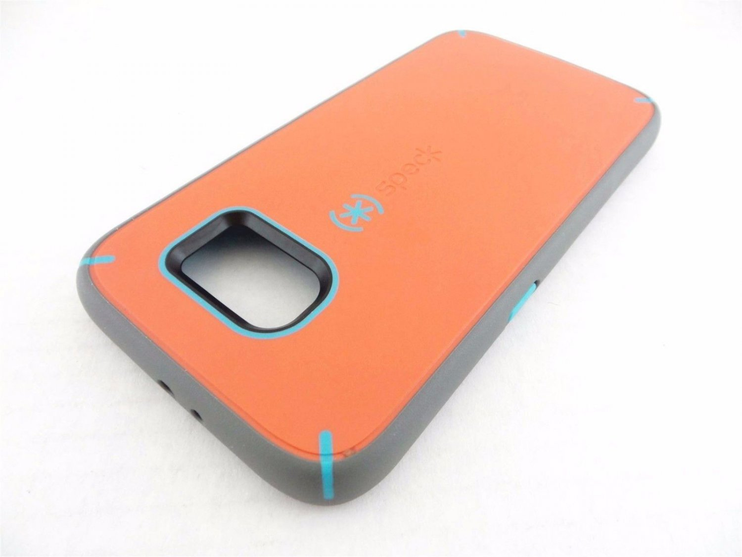 Speck-Mightyshell Case for Samsung Galaxy S 6 Cell Phones -Orange/Blue/Gray