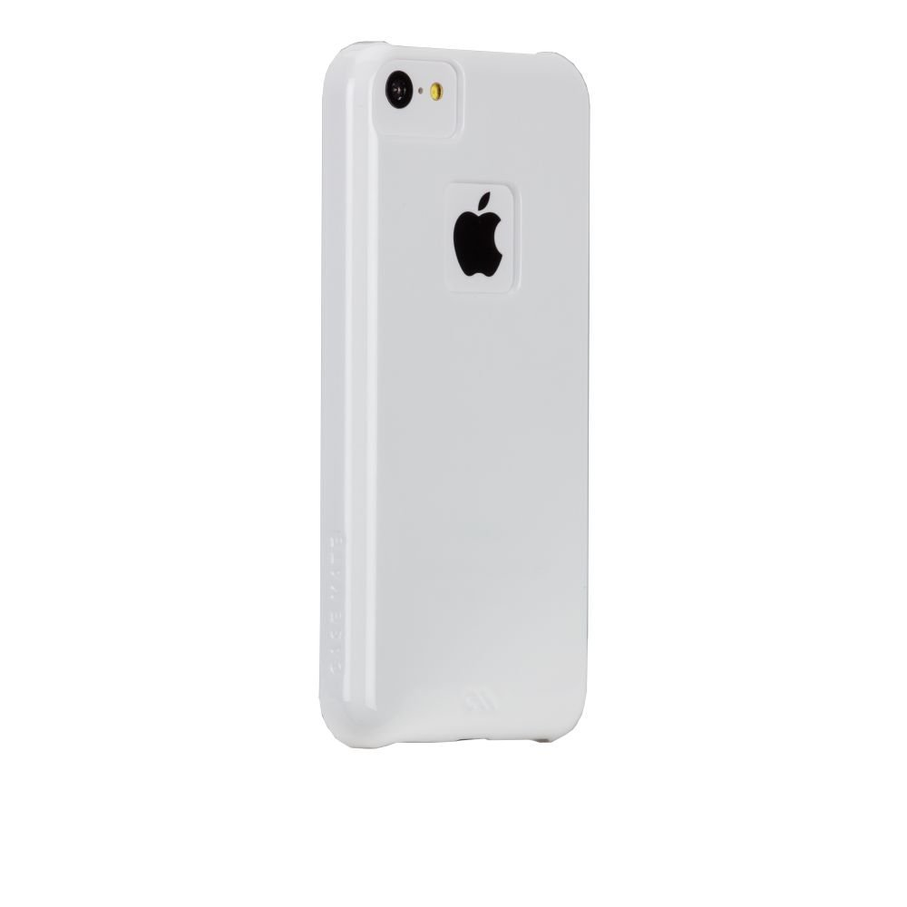Case-Mate Barely There Case for iPhone 5C - Retail Packaging - White