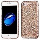 Apple iPhone 7 Silicone Case - TPU Transparent Smoke Diamond -...