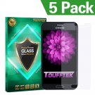 TouffTek Samsung Galaxy Note Edge Premium HD Invisible Tempered Glass Screen Protector