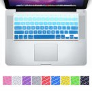 DHZ Big Font Sky Blue Gradient Keyboard Cover Silicone Skin for MacBook Air 13""
