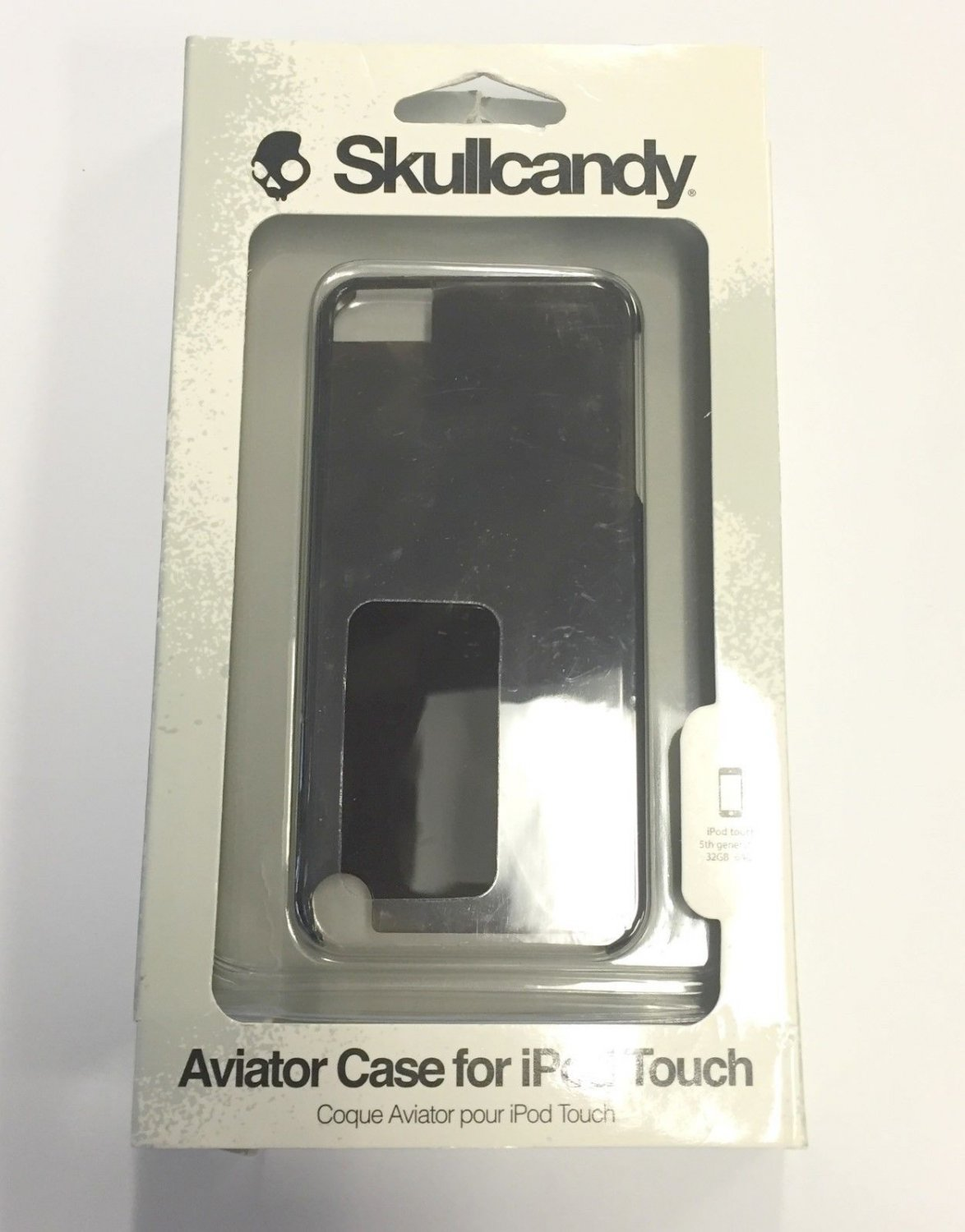 Skullcandy Aviator Protector Case For Apple iPod Touch 5th Generation Black 371
