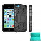 Moment Dextrad Dual Layer Armor Defender Protective Cover for Apple iphone 5C (Black)