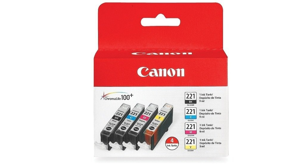 Canon CLI-221 Four-Color Ink Tank