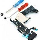 MMOBIEL Iphone 5 Dock Connector USB Charging Port Flex Black Mic Audiojack Antenna Home Button