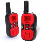 UOKOO Kids Walkie Talkies, 22 Channel FRS/GMRS 2 Way Radio - RED
