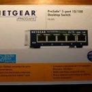 NETGEAR ProSAFE FS105NA 5-Port Fast Ethernet Switch (FS105NA)