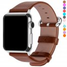 Apple Watch Bands 42mm, Fullmosa Yan Series Lichi Calf Leather Strap Replacement Band