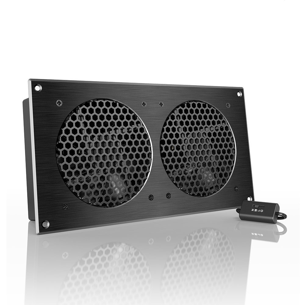 """AC Infinity AIRPLATE S7, Quiet Cooling Fan System 12"""" with Speed Control"""