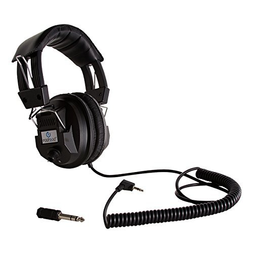 Egghead EGG-IAG-1003-SO Switchable Stereo/Mono Classroom Headphones, Black