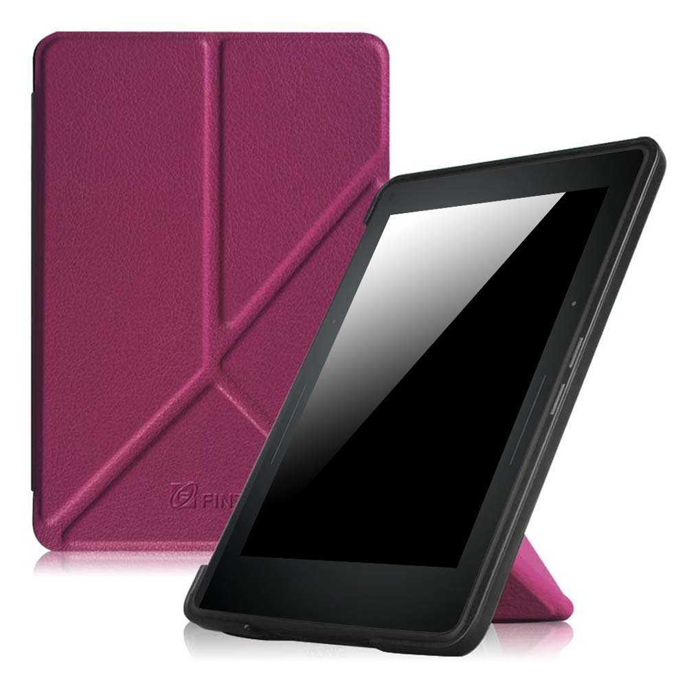 Fintie Origami Case For Kindle Voyage Purple