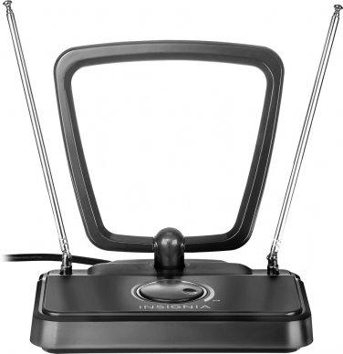 Insignia - Fine-Tuning Indoor HDTV Antenna - Black