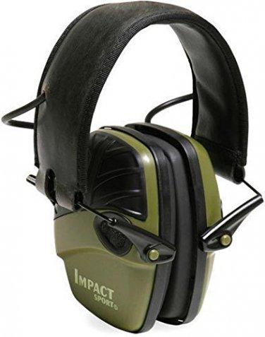 Howard Leight Impact Sport Electronic Noise Amplification Earmuffs