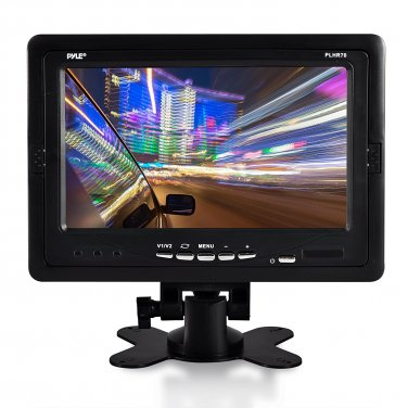 Premium 7� Inches Rearview Car LCD Monitor By Pyle