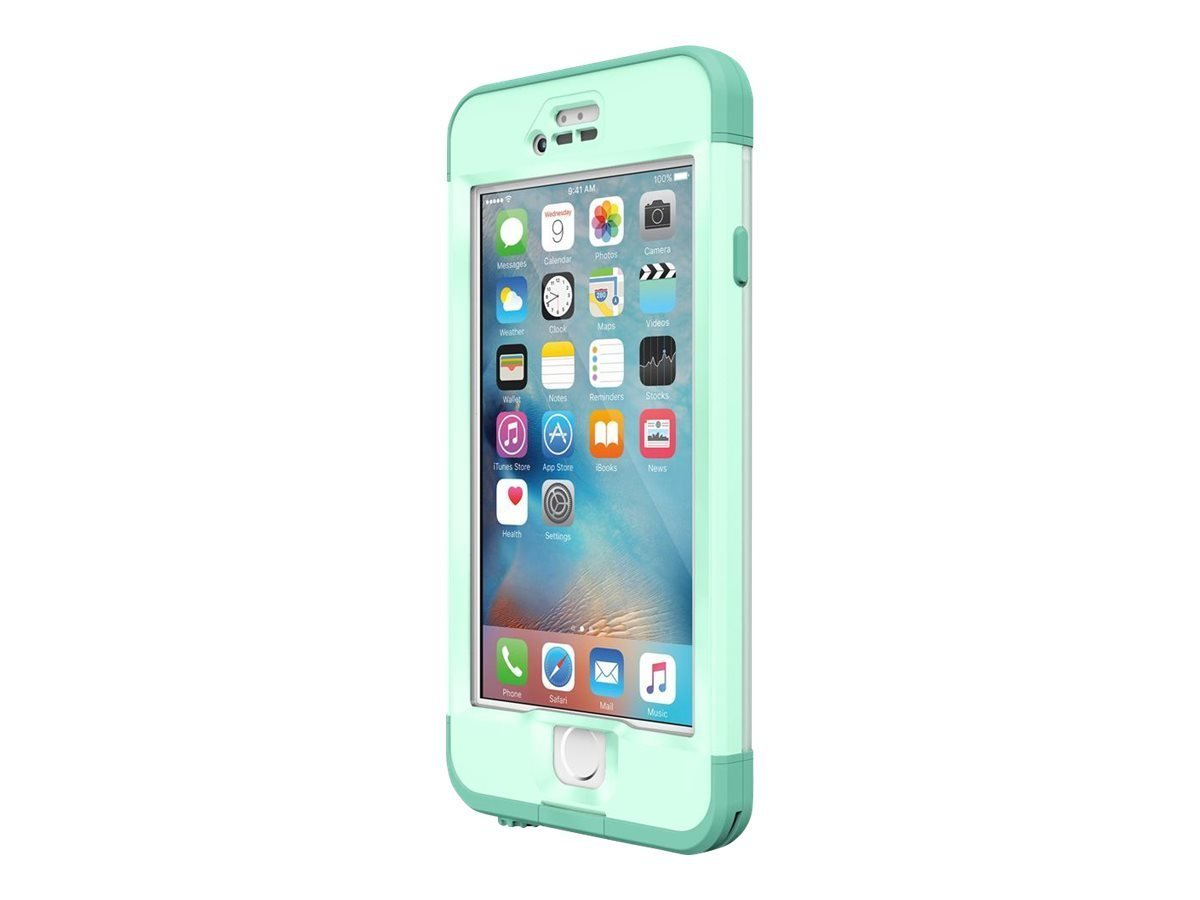 White Lifeproof Case Iphone  Plus