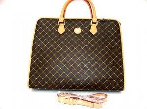 Monogram Linda Tote Handbag