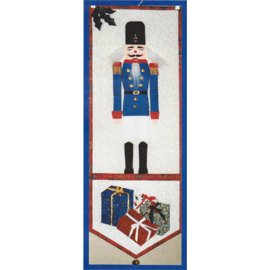 Quilt Bell Pull Pattern THE NUTCRACKER Janet's Creations Kit with Fabrics #901