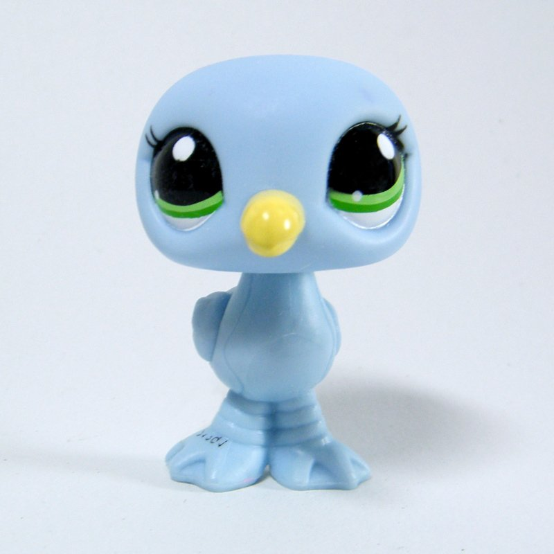 Littlest Pet Shop 2591 Seagull Baby Blue Body Blind Bag