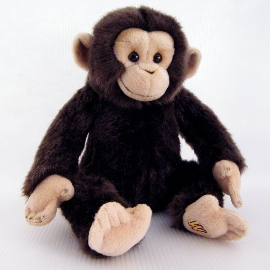 Webkinz Signature CHIMPANZEE CHIMP No Code Plush Only WKSS2007 Ganz