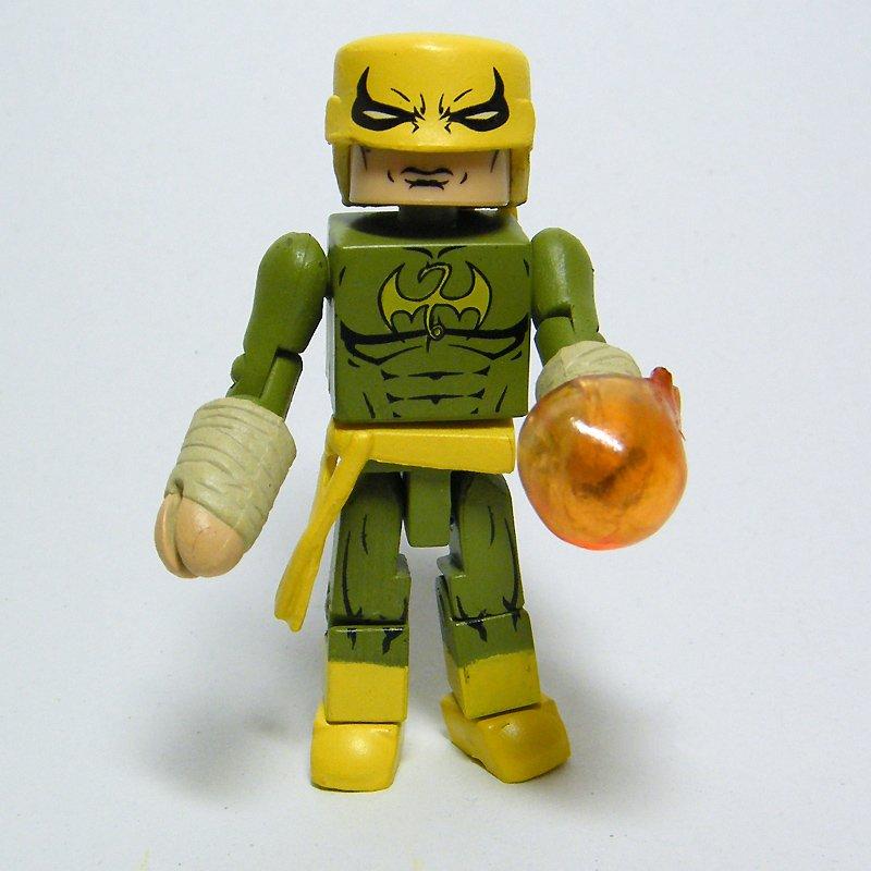 Marvel Minimates Shadowland IRON FIST Series 38 Loose Figure