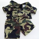 "Build A Bear Jungle Military Camouflage Camping Shirt and Pants 16"" & Larger"