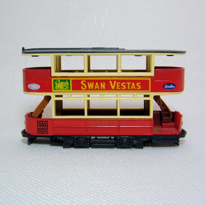 Diecast Preston Tramcar SWAN VESTAS Matchbox Models of Yesteryear Y-15