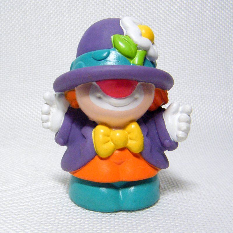 Fisher Price Little People SMILEY the CLOWN from Surprise Sounds Fun Park