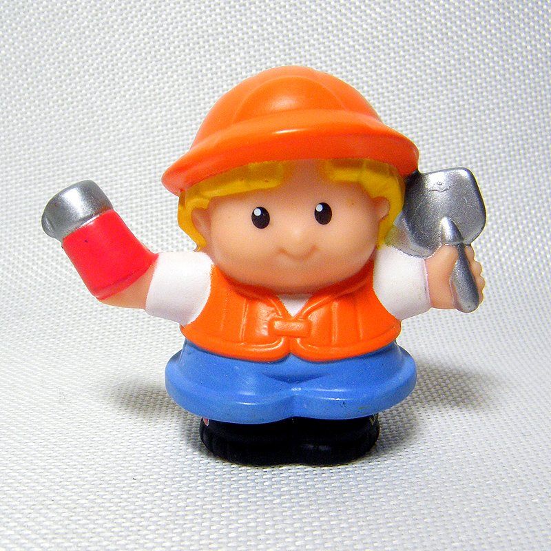 Fisher Price Little People Construction Worker, Fun Sounds Crane & Quarry