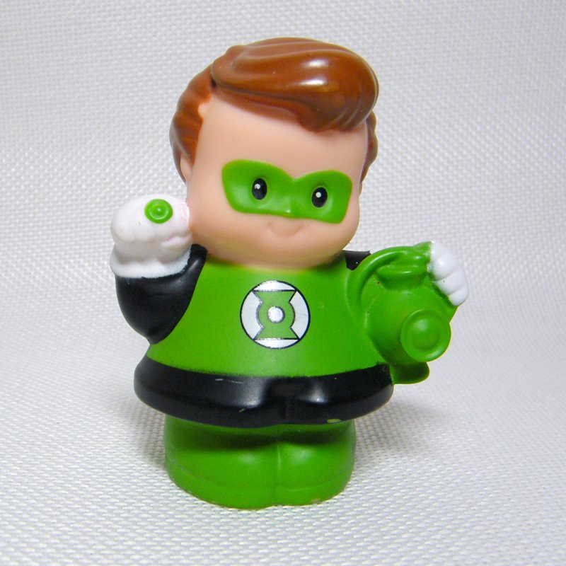 Fisher Price Little People GREEN LANTERN DC Super Friends Replacement Figure