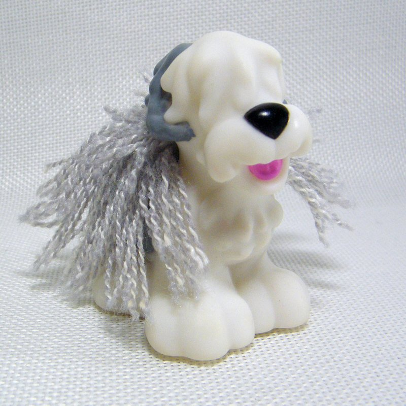 Fisher Price Little People SHEEPDOG Brushable Puppy Sonya Lee Pet Salon