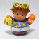 Fisher Price Little People ROBERTO Hawaiian Vacation Lil Movers Airplane