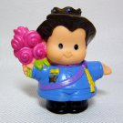 Fisher Price Little People PRINCE Figure from Build N Drive Carriage