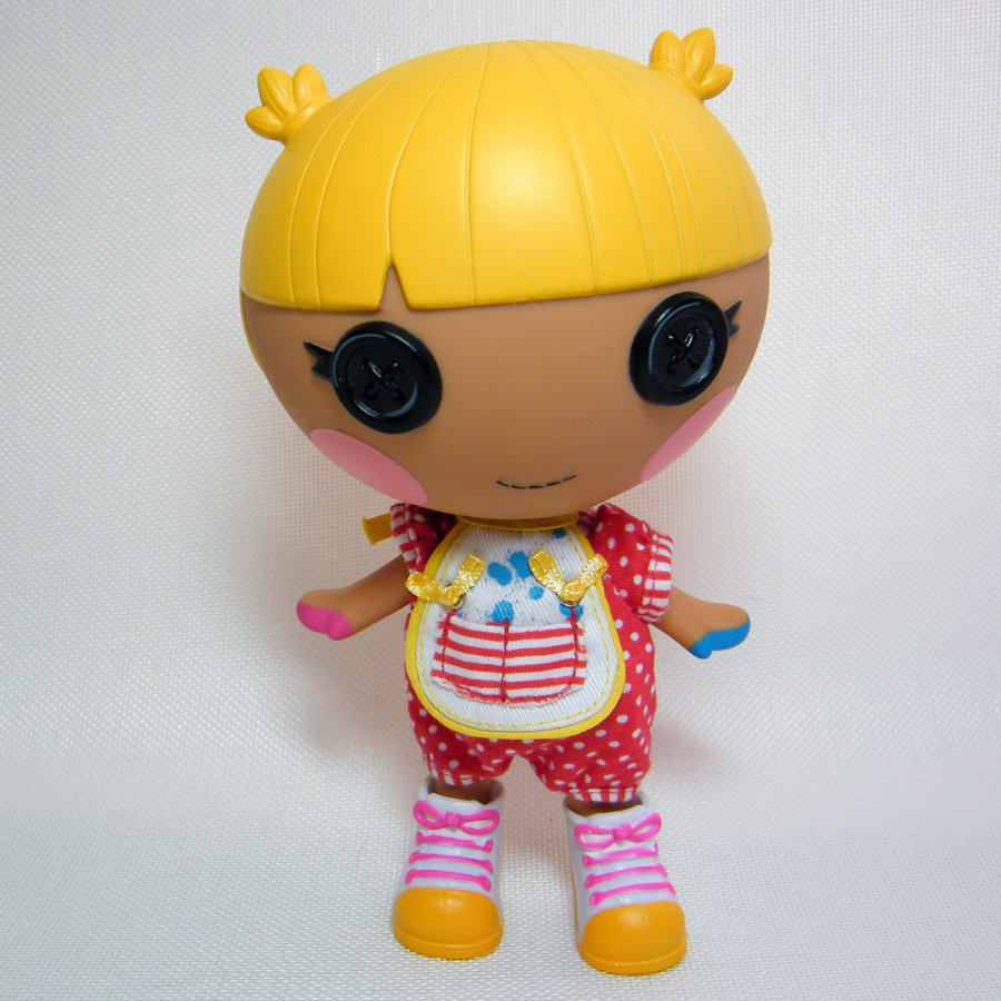 Lalaloopsy Littles SCRIBBLES SQUIGGLE SPLASH Full Size Doll