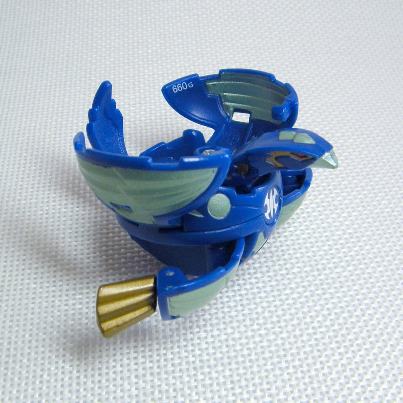 Bakugan HAWKLEA (Cosmic Ingram) Blue AQUOS Vestroia 660G