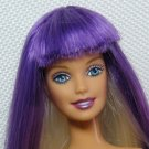 Jam'n Glam BARBIE with Purple & Platinum Twist Scalp and Ever-Flex Waist