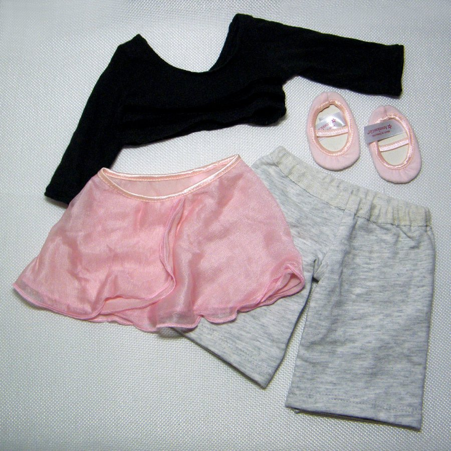 """American Girl Two-In-One BALLERINA Clothes for 18"""" Dolls"""
